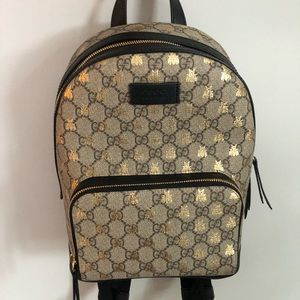 Authentic Gucci Supreme Bees Backpack